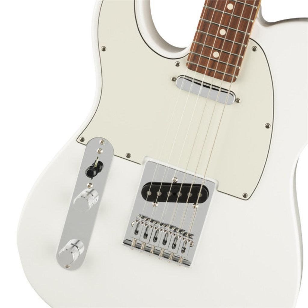 Fender Fender Player Tele PF Polar White Left Handed