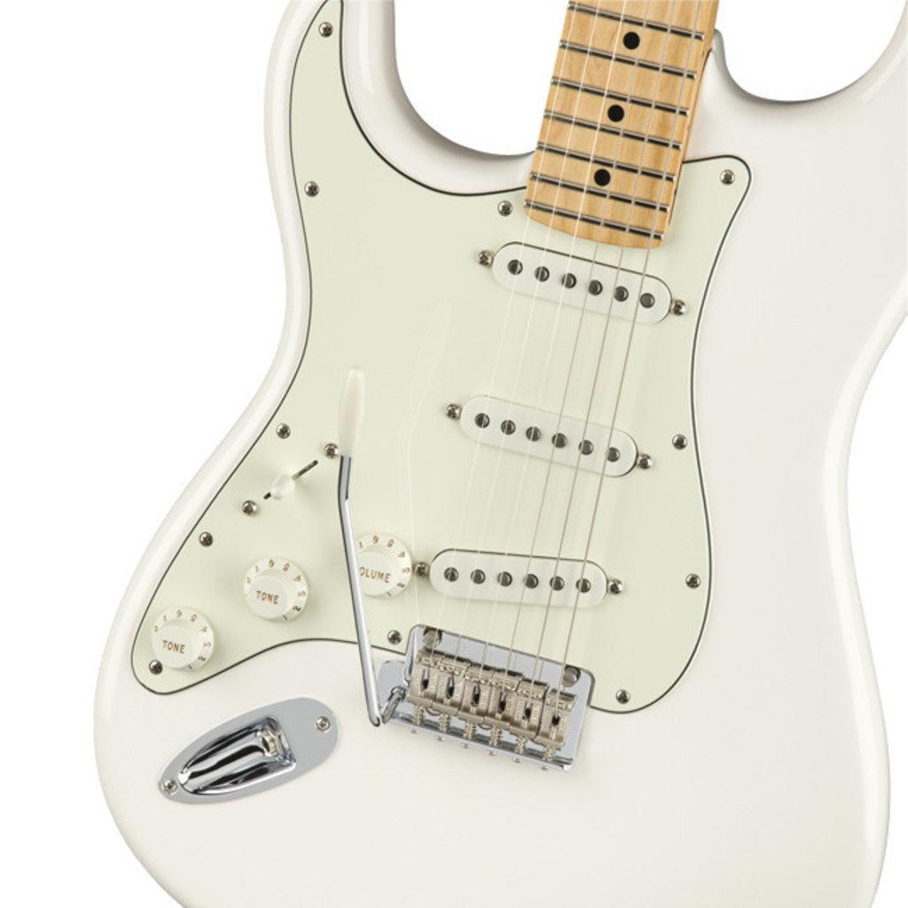 Fender Fender Player Stratocaster MN Polar White Left Handed