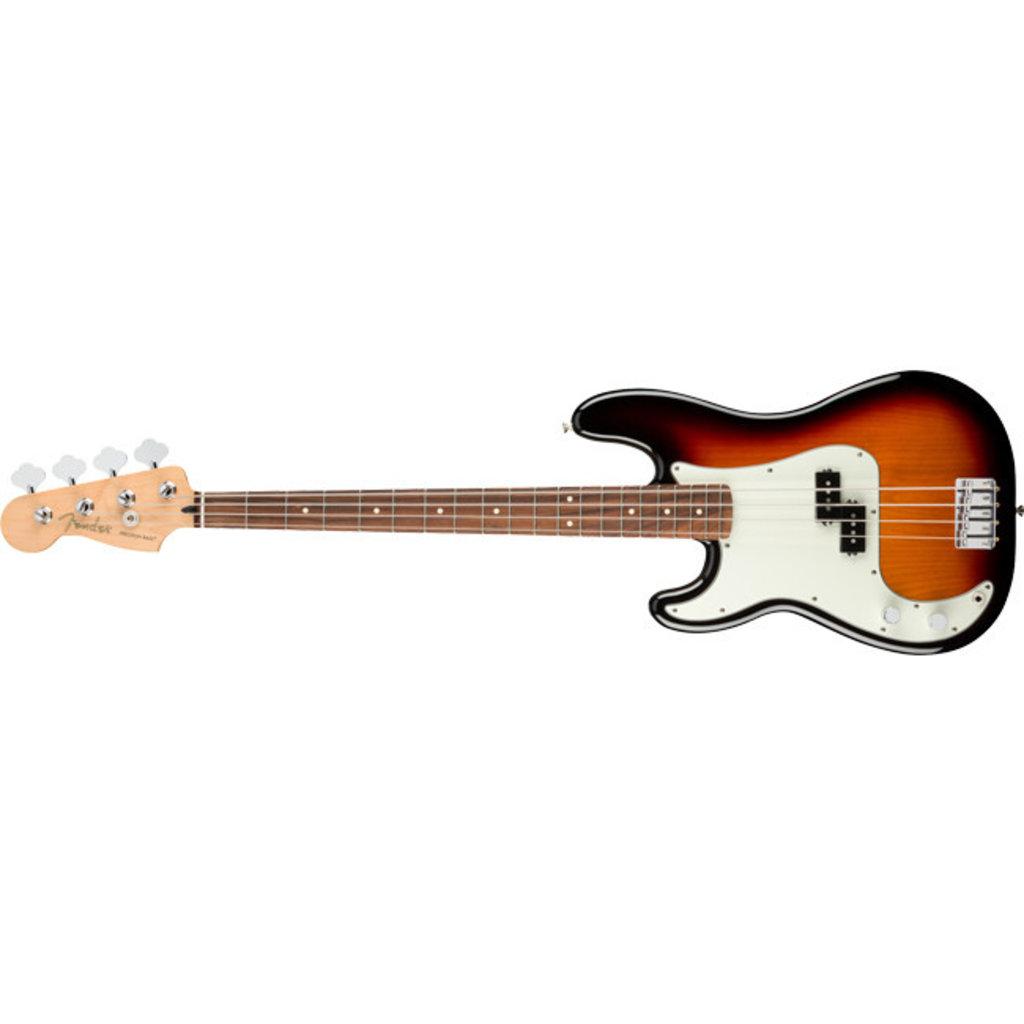 Fender Fender Player Precision Bass PF - 3-Tone Sunburst Lefty