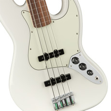 Fender Fender Player Jazz Bass PF Polar White Fretless