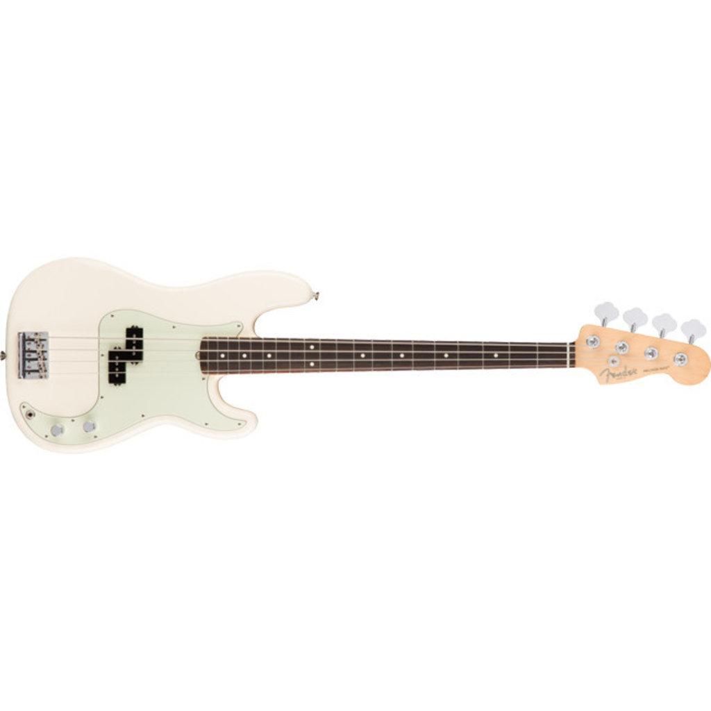 Fender Fender American Pro Precision Bass RW Olympic White