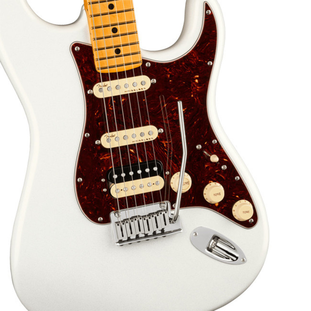 Fender Fender American Ultra Stratocaster HSS MN Arctic Pearl