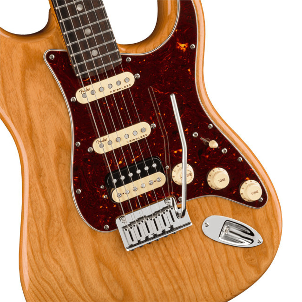 Fender Fender American Ultra Stratocaster HSS RW Aged Natural