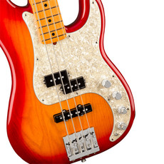 Fender Fender American Ultra P-Bass MN Plasma Red Burst