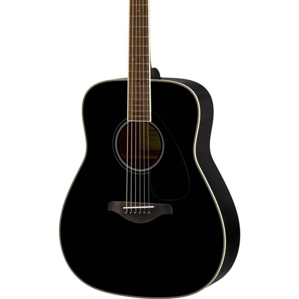 Yamaha Yamaha FG820 Black Acoustic Guitar