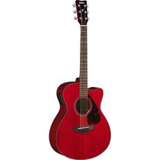 Yamaha Yamaha FSX800C Ruby Red Acoustic/Electric