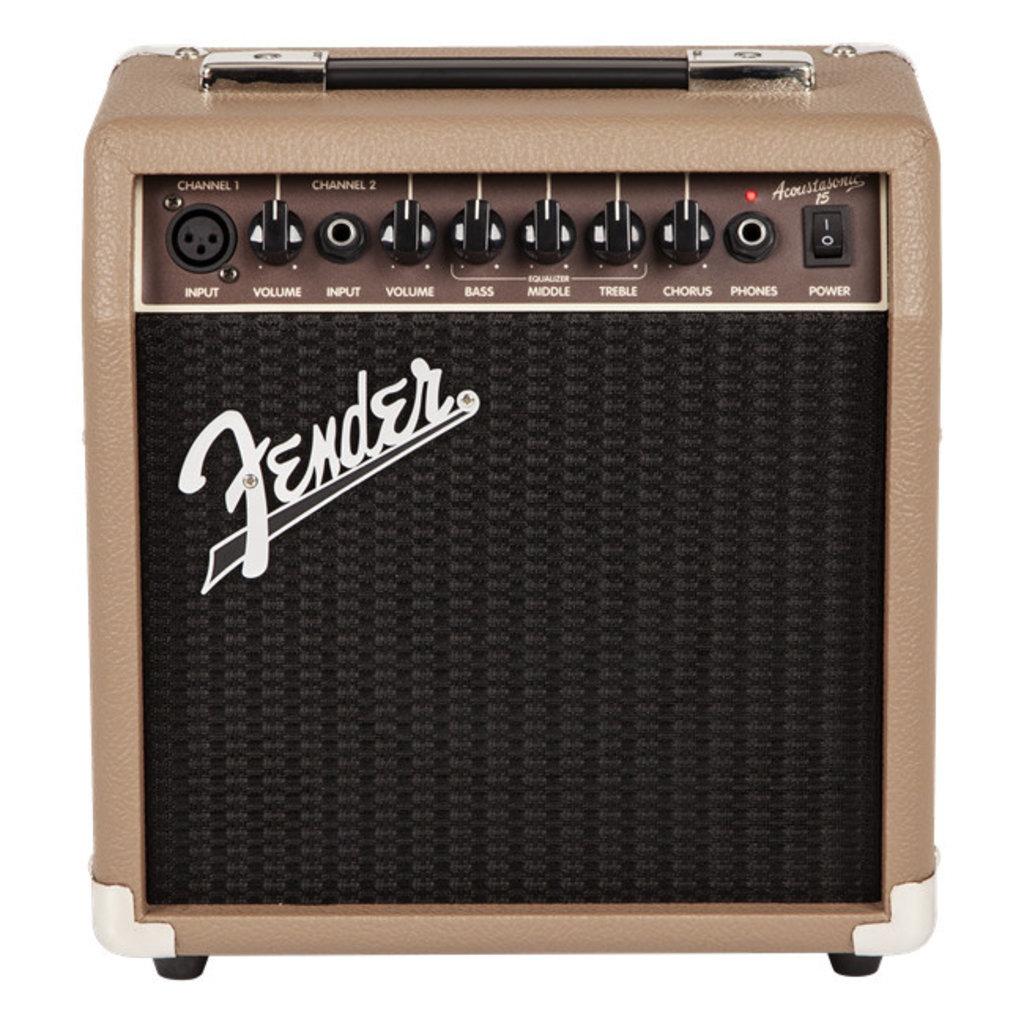 Fender Fender Acoustasonic 15 Amp 120v