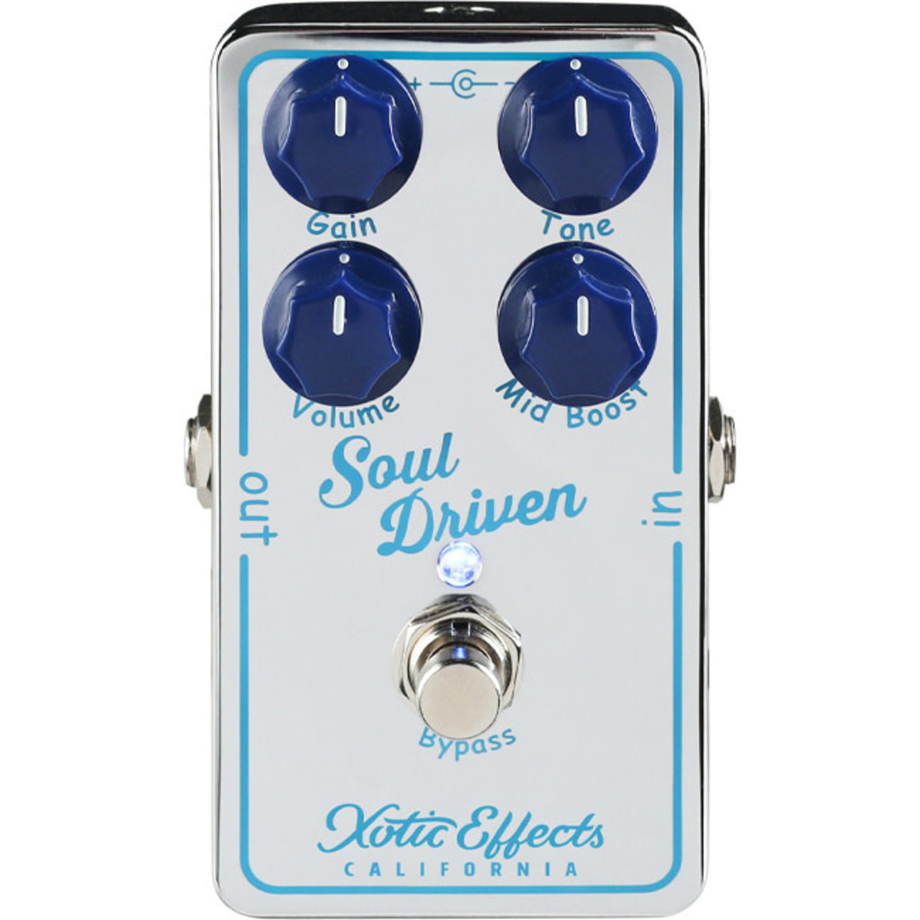 Xotic Soul Driven AH Drive Pedal