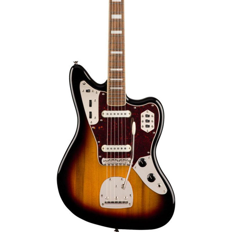 Fender Fender Squier Classic Vibe 70's Jaguar LRL - 3-Tone Sunburst