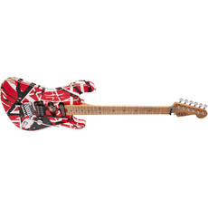 EVH EVH® STRIPED SERIES FRANKIE R/B/W RELIC