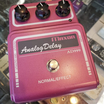 Consignment Consignment Maxon AD-999 Analog Delay (made in Japan)