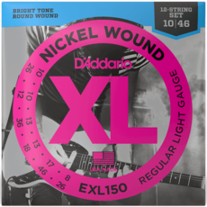 D'addario D'addario EXL150 12 String X/Reg Light Electric