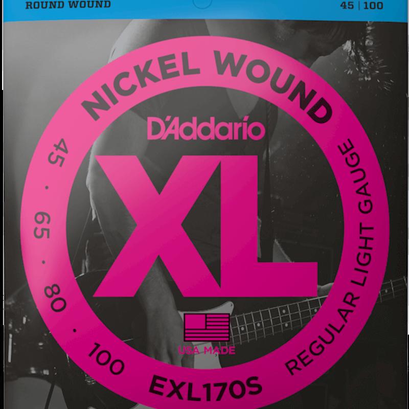 D'addario EXL170S Short Scale Bass Strings