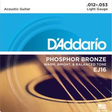 D'addario D'Addario Ej16 Acoustic Lt