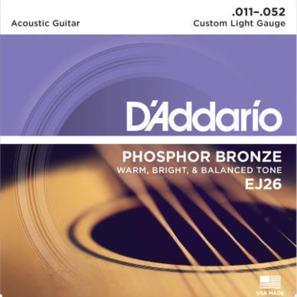 D'addario D'Addario Ej26 Custom Light