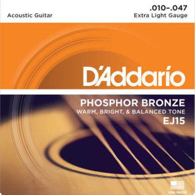 D'addario D'Addario Ej15 Acoustic X Lt