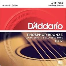 D'addario D'Addario Ej17 Acoustic Med