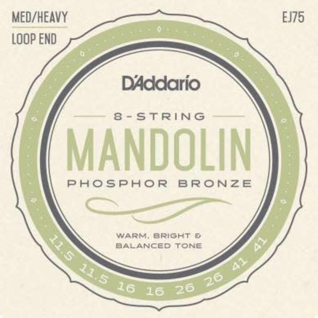 D'addario D'addario EJ75 Mandolin Strings