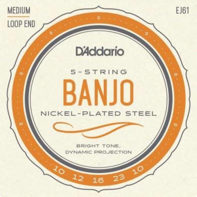 D'addario D'Addario EJ61 Banjo Stings