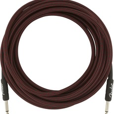 Fender Fender 10' Pro Instrument Cable Red Tweed