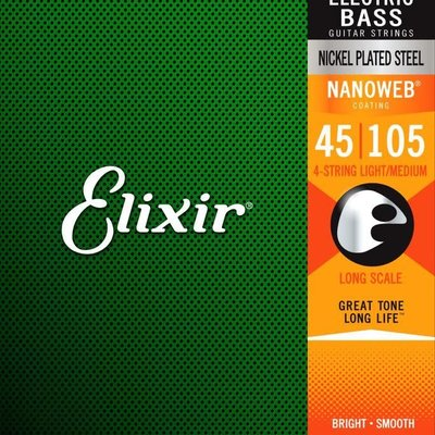 Elixir Elixir Nano 4 String Bass Light/Medium 14077