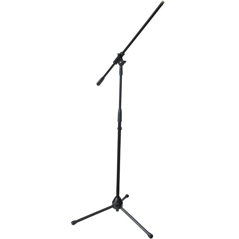 Solutions SMICS-B-BLK Microphone Stand with Boom