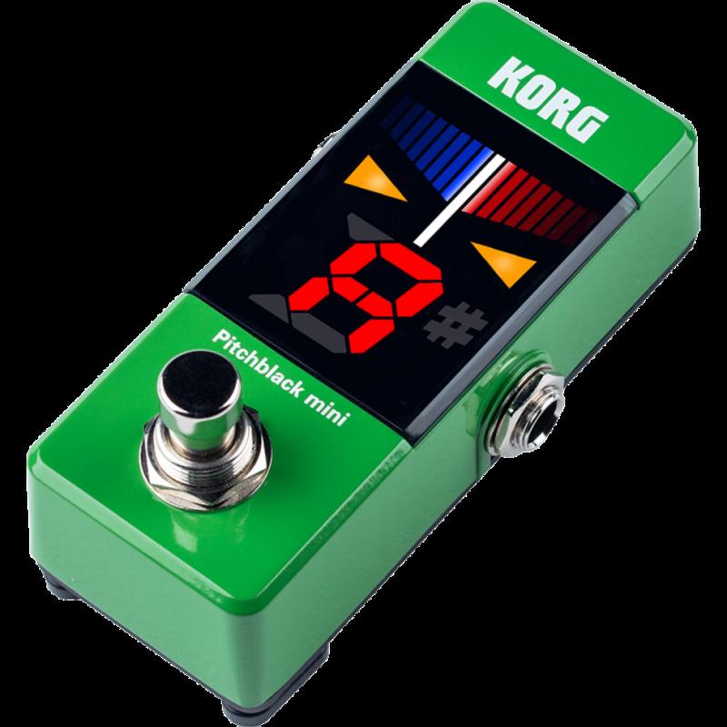 Korg Korg Pitchblack Mini Pedal Tuner Green