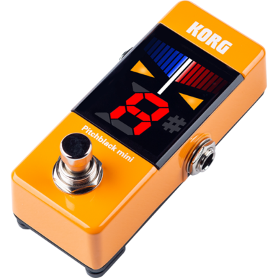 Korg Korg Pitchblack Mini Pedal Tuner Orange