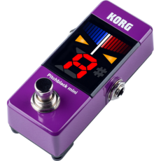 Korg Korg Pitchblack Mini Pedal Tuner Purple