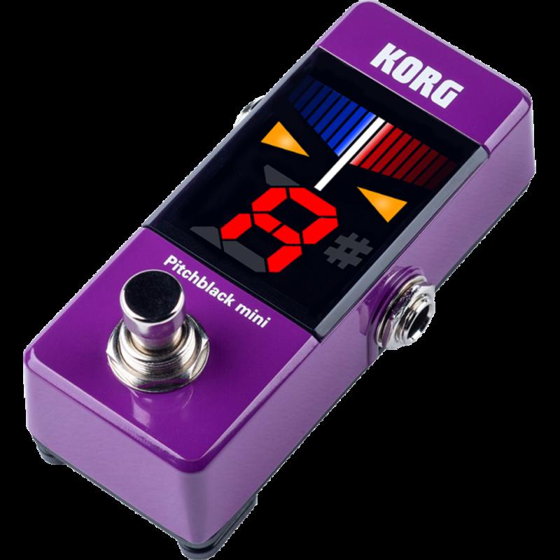 Korg Korg Pitchblack Mini Pedal Tuner Purple