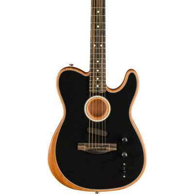 Fender Fender Acoustasonic Tele Black w/Bag