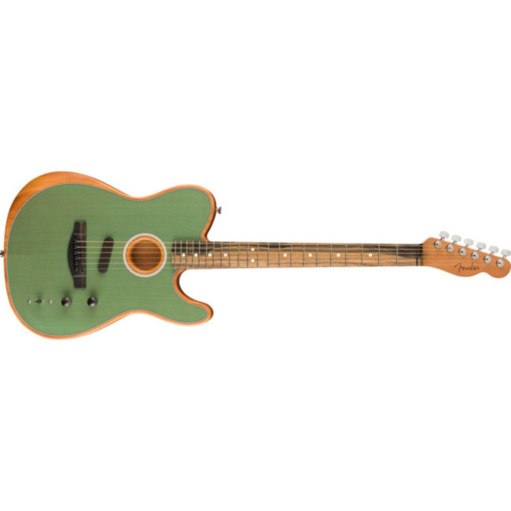 Fender Fender Acoustasonic Tele Surf Green w/Bag