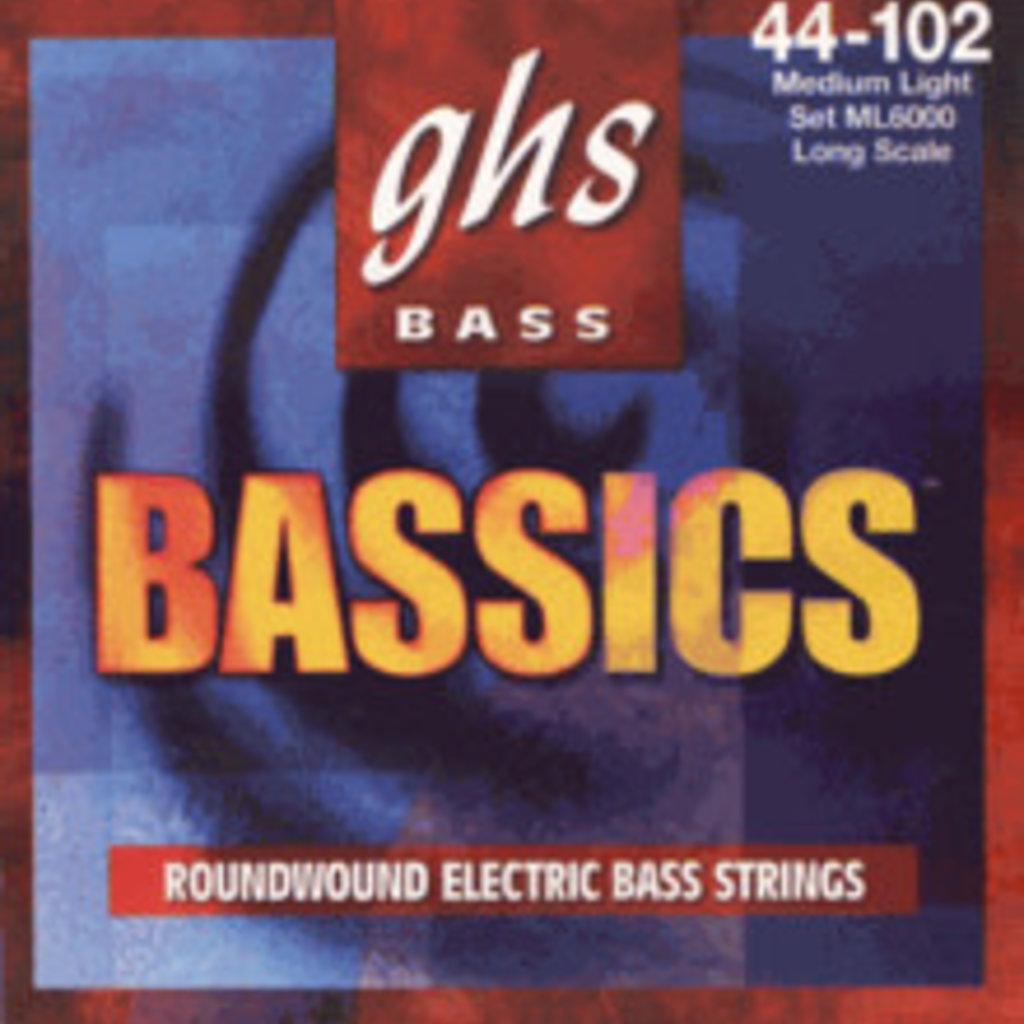 Ghs Bass Basics Med Lite ML6000