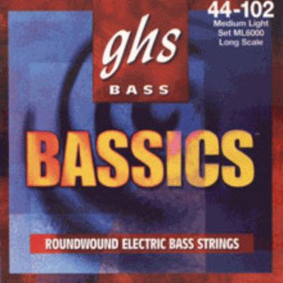 GHS Ghs Bass Basics Med Lite ML6000