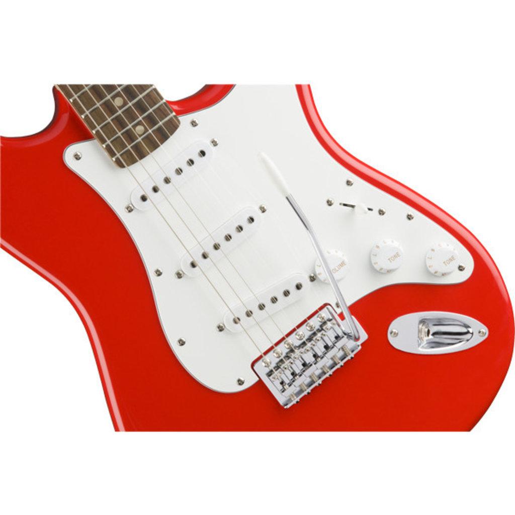 Fender Fender Squier Affinity Stratocaster LRL Race Red