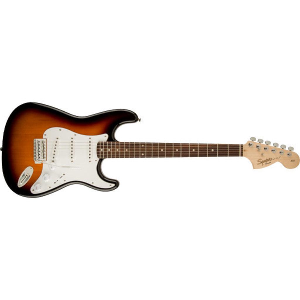 Fender Fender Squier Affinity Stratocaster LRL Brown Burst