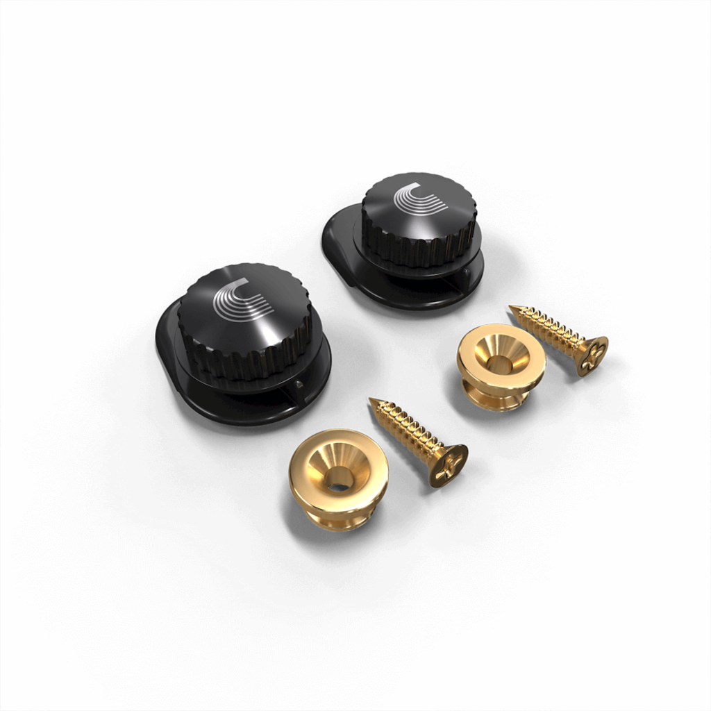 D'addario D'addario NS Strap Lock System - Gold