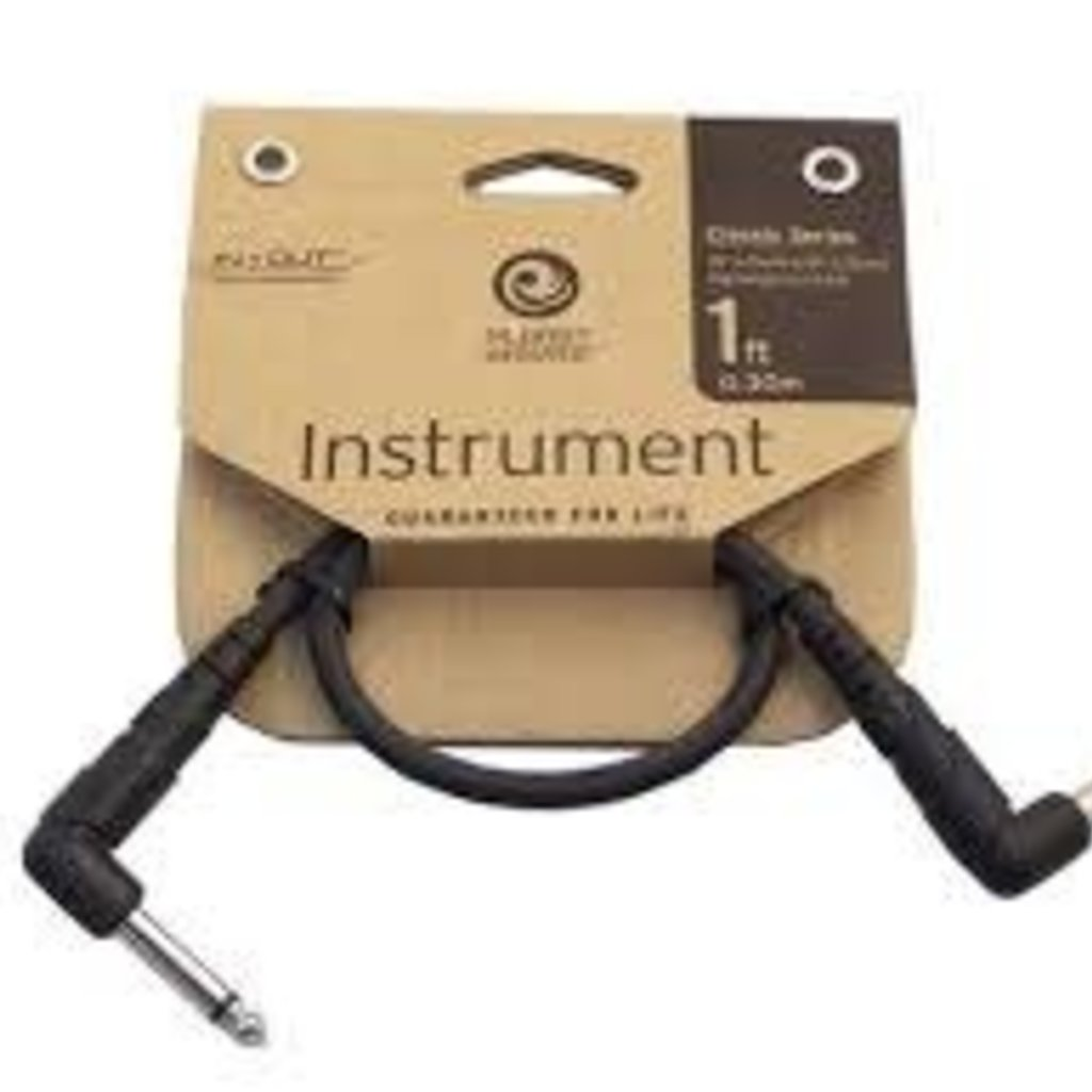 D'addario D'addario 1ft Patch Cable PW-CGTPRA-01