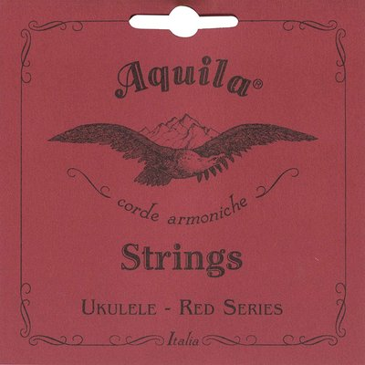 Aquila Concert Ukulele Strings Red Series Low G 86U