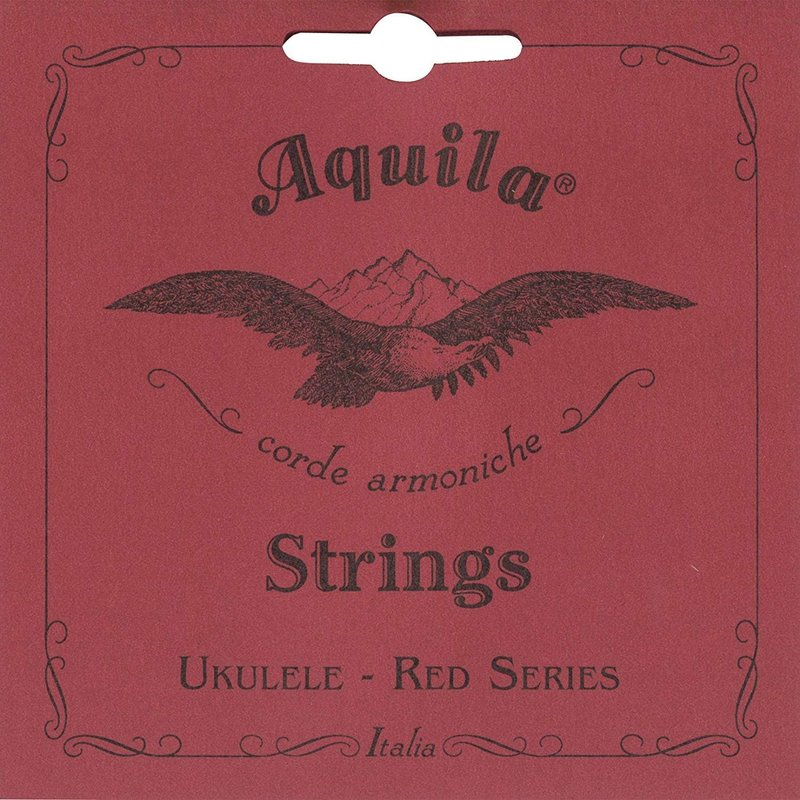 Aquila Concert Ukulele Strings Red Series Set with Low G