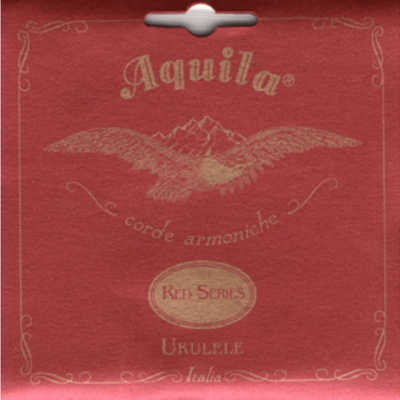 Aquila Baritone Ukulele Strings Red Series  89U