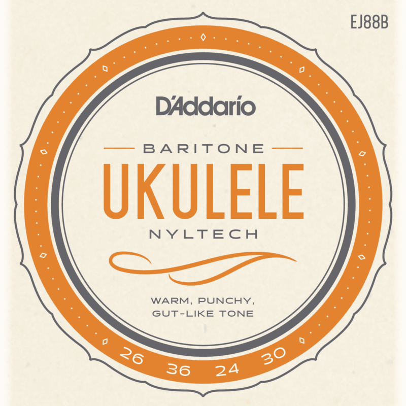 D'addario D'Addario EJ88B Baritone Ukulele Strings