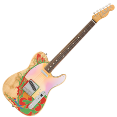 Fender Fender Artist Series Jimmy Page Telecaster Natural with Dragon
