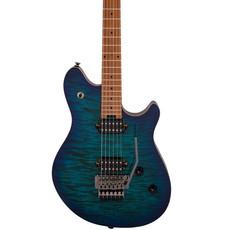 EVH EVH Wolfgang WG Standard Quilt Maple - Chlorine Blue