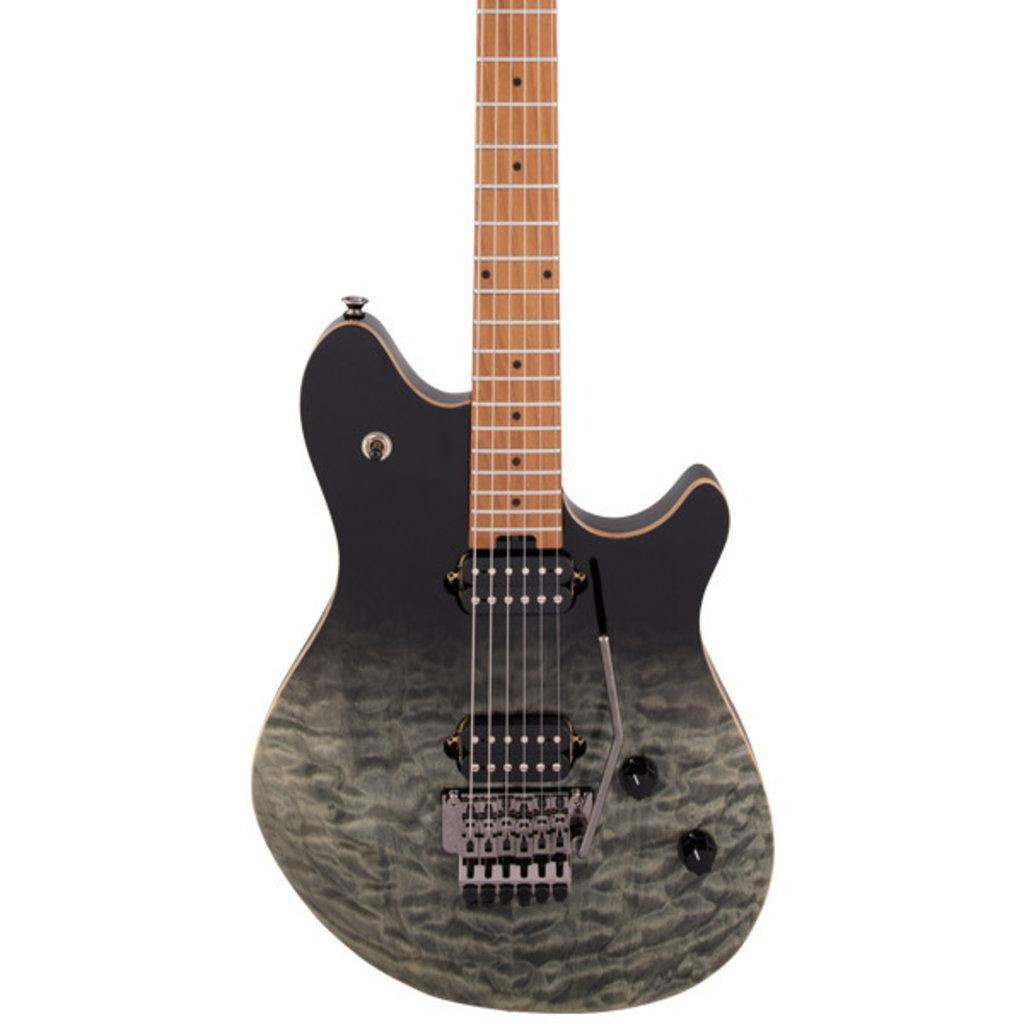 EVH EVH Wolfgang WG Standard Quilt Maple - Black Fade