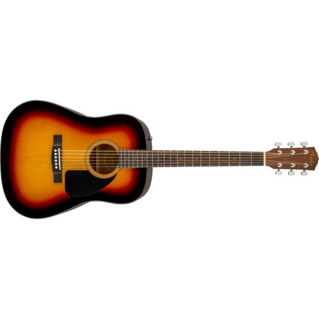 Fender Fender CD60 V3 Dreadnaught w/Case - Sunburst