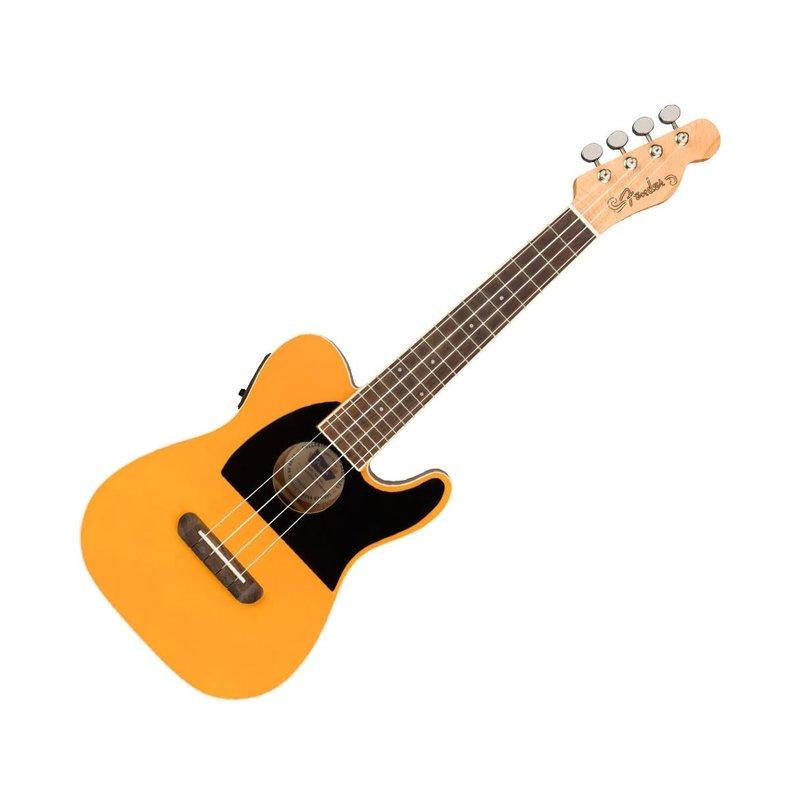 Fender Fender Fullerton Tele Ukulele with Pickup - Butterscotch