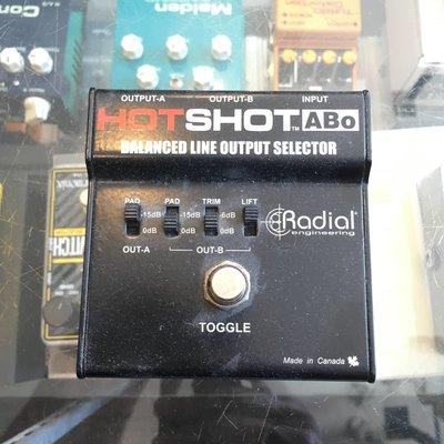 Radial Hotshot ABO Box