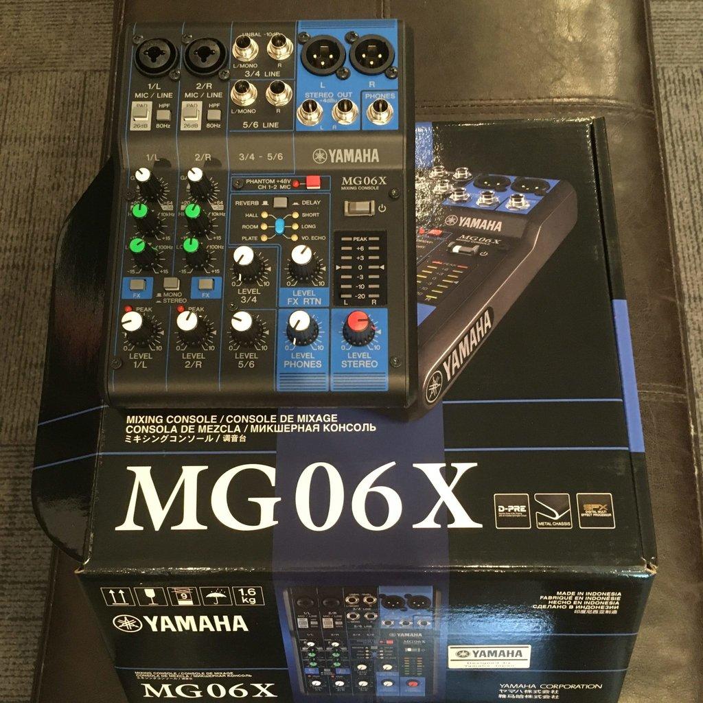 Yamaha Used Yamaha MG06X Mixer