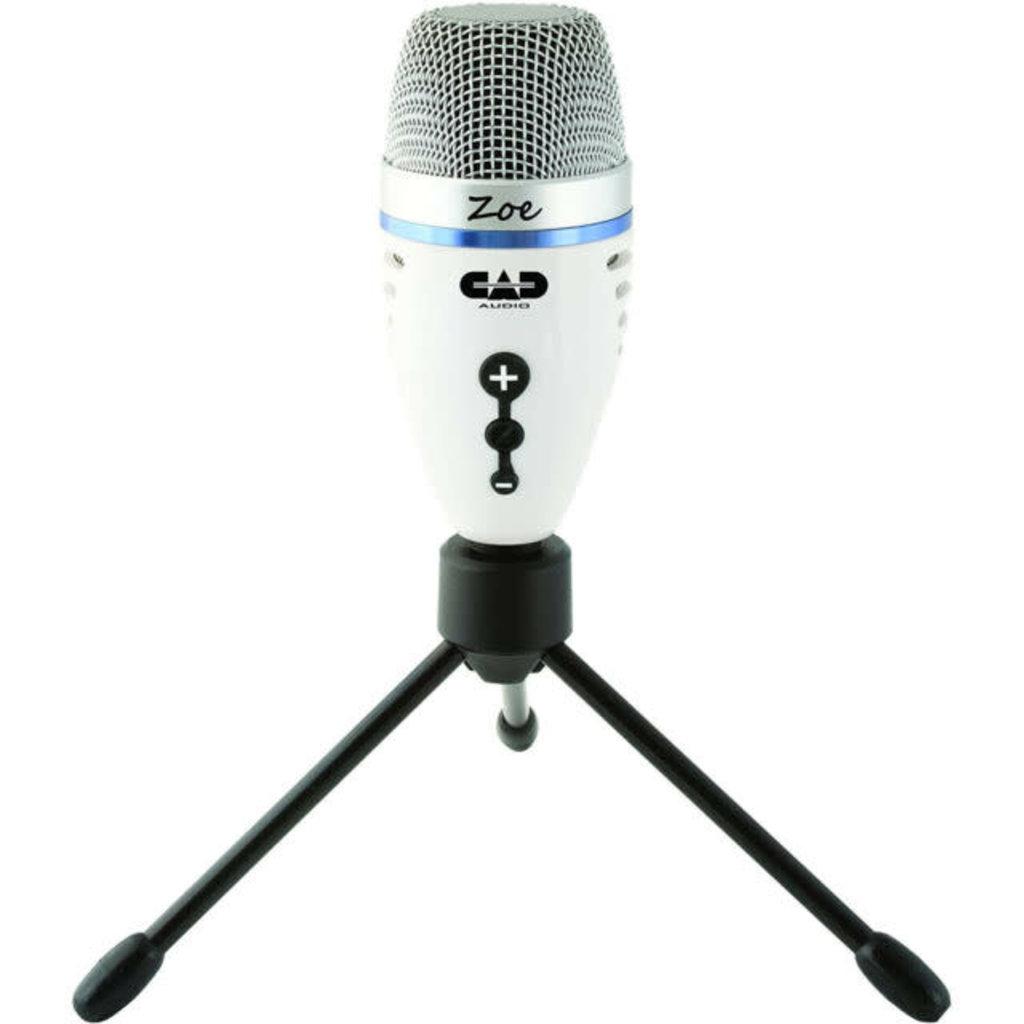 CA CAD Zoe USB Microphone w/Headphone Port